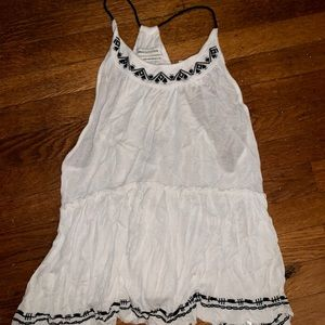 White urban outfitters UO top